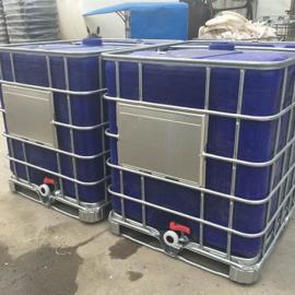 供应自贡防水材料包装桶IBC集装桶1吨堆码桶