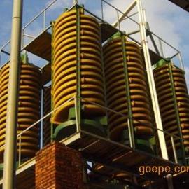 全国供应洗煤螺旋溜槽 选金螺旋溜槽 5LL型溜槽厂家