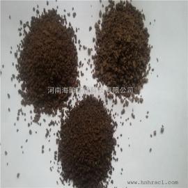 地下水除铁除锰  天然锰砂滤料,河北水处理锰砂滤料价格