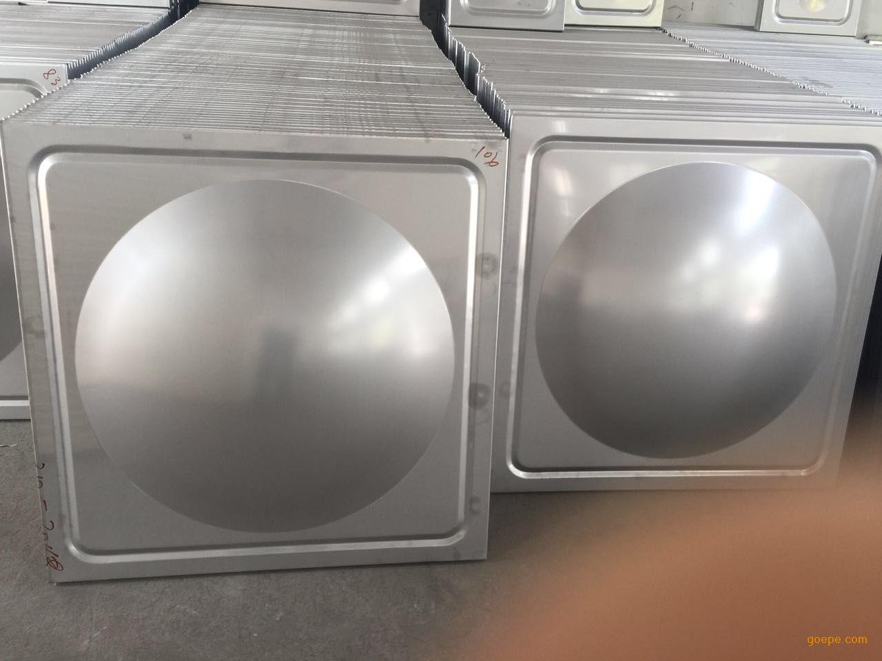 304不锈钢水箱模压块冲压成型