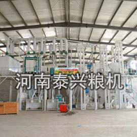 玉米加工成套设备自动磨粉机