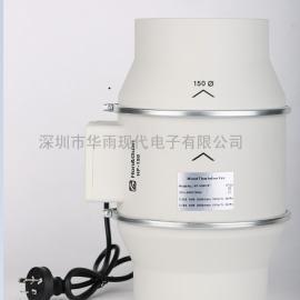 鸿冠圆形管道风机 HF-150P 工厂现货