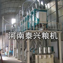 石磨面粉�C械-小型石磨面粉�C-全自�邮�磨面粉�C