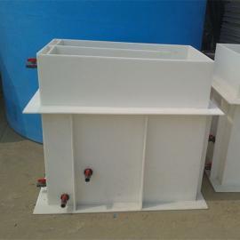 实验室专用防腐蚀PP电解槽PP酸洗槽PP电镀槽