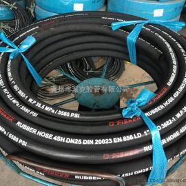 DIN EN 856 4SH 液压胶管 高压胶管 缠绕胶管