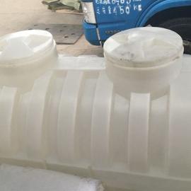 曲阜1.5吨白色PE化粪池塑料化粪池聚乙烯化粪池厂家供应
