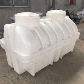 益阳全新家用小区化粪池2吨卧式水箱成品化粪池