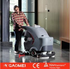 常州高美GM85BT洗地机 无锡手推式洗地车 全自动洗地机