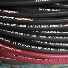 SAE 100R2AT美标两层钢丝编织液压橡胶管