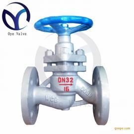 柱塞阀DN32 U41SM-16/25c 蒸汽高温锅炉阀门