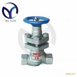 内螺纹柱塞阀 DN15 U11SM-16C丝口节能蒸汽锅炉