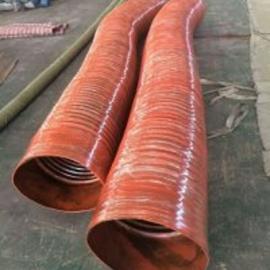 耐高温阻燃伸缩胶管 夹布伸缩橡胶管 大口径硅胶伸缩软管