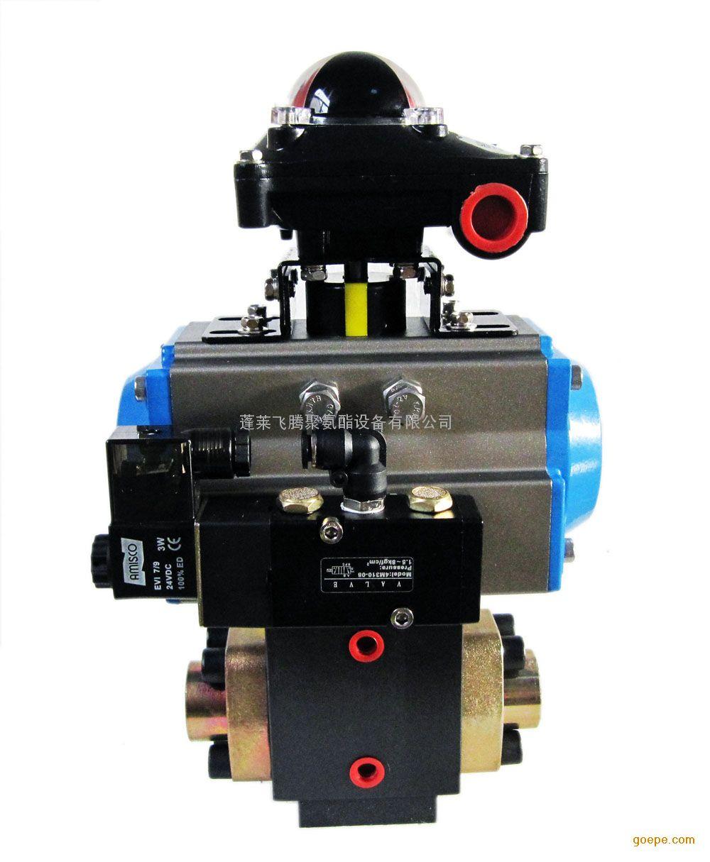意大利康隆聚氨酯高低压转换阀 气动高低压换向阀
