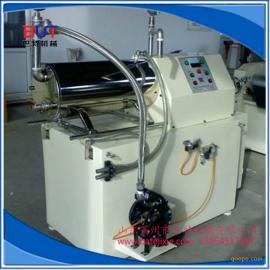 莱州巴特机械出品30升卧式砂磨机涂料油漆油墨用防爆研磨机