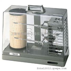 7210-00温湿度��h�,日本进口佐藤温湿度记录仪
