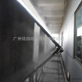 机房空调室外机喷雾降温设备,精密空调外机降温喷淋系统