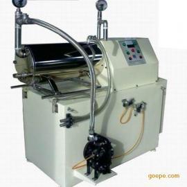 莱州巴特机械出品60升卧式砂磨机涂料油漆油墨用防爆研磨机