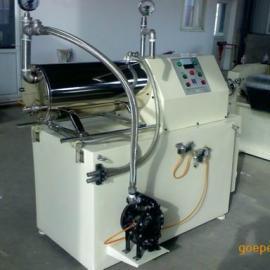 莱州巴特机械出品50升卧式砂磨机涂料油漆油墨用防爆研磨机