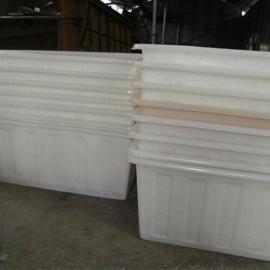敞口食品级塑料方箱耐酸碱方形周转箱牛筋桶