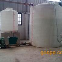 【容大塑业】 安阳 10吨聚羧酸减水剂复配罐 图片介绍