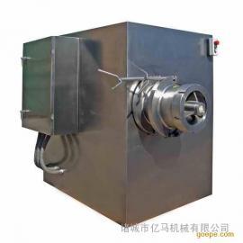 大型冻肉绞肉机 绞肉机怎么做才能做到投料安全
