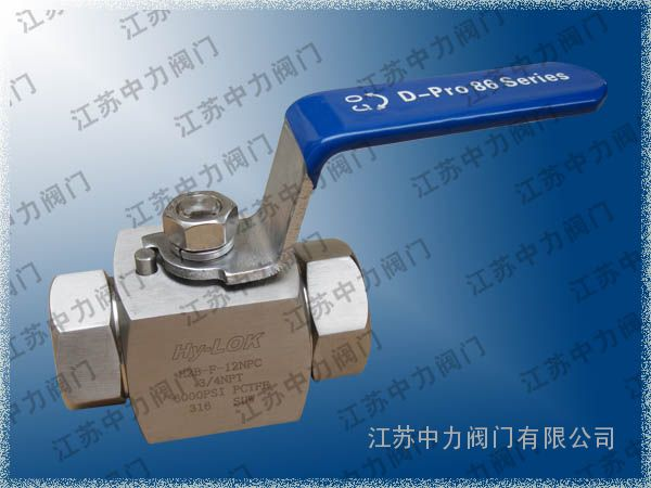 VCB不锈钢高压进口球阀