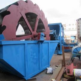 新型洗砂机,广东轮斗式洗砂机,矿山泥土轮式洗砂机百兴热销惠州