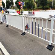 苏州道路护栏 苏州广告板小区道路隔离护栏 龙桥护栏专业订制