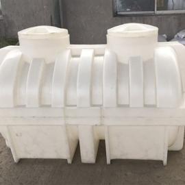 供应兰溪滚塑一次成型小型家用化粪池PE化粪池
