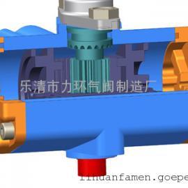 铝合金执行器DN25 DN50  不锈钢片式气动球阀配件
