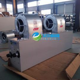 专业生产铜管换热器热水风幕机离心式热水型风幕机