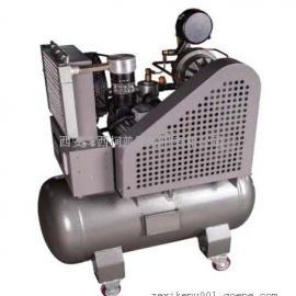 西安无噪音涡旋式空压机 带76L储罐 涡旋式空压机 WXT-0.15/10