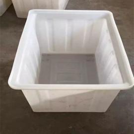 庐江全新料食品级塑料方箱抗撞击牛筋桶推布车价格