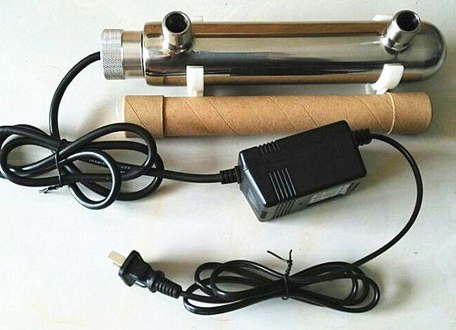 投币直饮机专用4分内牙紫外线杀菌器304不锈钢10wUV灯