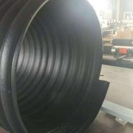 1米2增强型聚乙烯排污管,PE增强型钢带波纹管