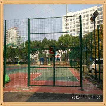 龙桥护栏 厂家直销 运动场护栏网 小区园林护栏网