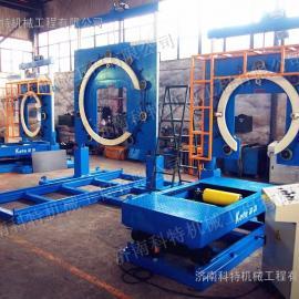 单工位带导轨车钢丝缠绕包装机