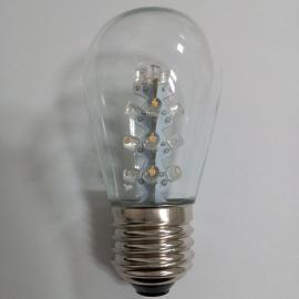 S14木瓜泡,LED插件灯泡,LED圣诞装饰灯,LED灯