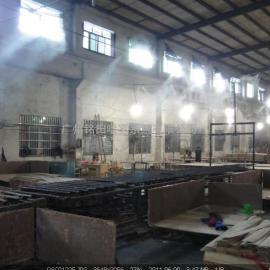 萝岗厂房生产车间除尘设备,流水线加工厂喷雾除尘系统