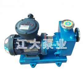 江大泵业ZCQ(ZCQB)不锈钢自吸磁力泵