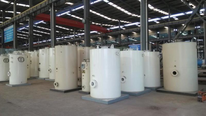 立式LHS0.3-0.4-Y(Q)燃油燃气蒸汽锅炉
