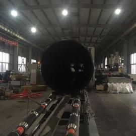 国标HDPE大口径排污管,PE钢带增强螺旋波纹管SN8~SN16