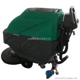 车间保洁用洗地机 工厂用洗地机 超市用电动洗地机