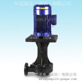 AYD-65VK-7.5可空转直立式耐酸碱泵 立式泵特点 广东立式泵