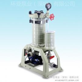 AX-104 化学药液过滤机 过滤机特点 深圳过滤机