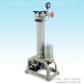 AX-201 化学药液过滤机 过滤机特点 深圳过滤机