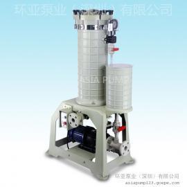 AX-206 化学药液过滤机 过滤机特点 深圳过滤机