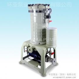 AX-212 化学药液过滤机 过滤机特点 深圳过滤机 电镀设备 PCB电镀