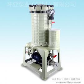 AX-218 环亚化学药液过滤机 深圳过滤机厂家