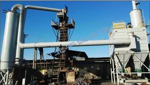 冲天炉布袋除尘器工作原理为:冲天炉烟气在引风机负压的作用下